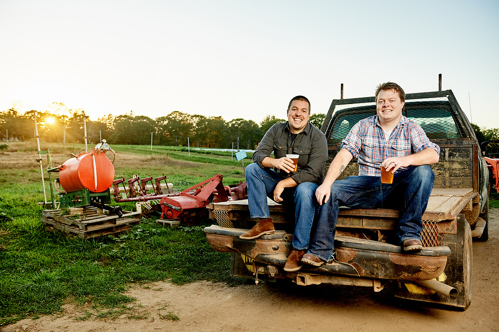 Matt Sullivan and Ben Garry, founders of Old Planters Brewing Co.