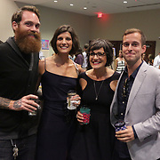 Left to right Matt Keen, Lindsey Zimecki, Jessie Williams, and Ramsey Boydpose for a photo Saturday September 20, 2014 during the 4th Annual Care Project Gala at Union Station in Wilmington, N.C. (Jason A. Frizzelle)