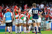 Rugby: Biarritz / Munster - 1/2Finale H Cup - 02.05.2010 - Benoit Auguste et ses coequipiers