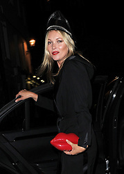 Kate Moss attends LFW s/s 2014: AnOther Magazine party at LouLou's in Mayfair, London, UK. 16/09/2013<br />