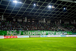 Olimpija fans during football match between NK Olimpija Ljubljana and NK Maribor in Round #25 of Prva Liga Telekom Slovenije 2017/18, on March 31, 2018 in SRC Stozice, Ljubljana, Slovenia. Photo by Ziga Zupan / Sportida