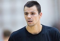 Jure Balazic of Slovenia during friendly basketball match between National teams of Slovenia and Ukraine at day 3 of Adecco Cup 2014, on July 26, 2014 in Rogaska Slatina, Slovenia. Photo by Vid Ponikvar / Sportida.com