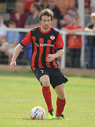 Ross Oulton, Kettering Town, Kettering Town v Aylesbury Utd, Southern League, Burton Park, Kettering, 9th August 2014