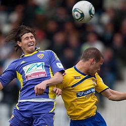 20120401: SLO, Football - PrvaLiga, NK Luka Koper vs NK Maribor