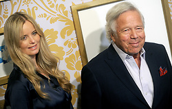 Actress Ricki Lander and business executive/NE Patriots owner Robert Kraft attending Roc Nation's The Brunch at One World Trade Center in New York City, NY, USA, on January 27, 2018. Photo by Dennis van Tine/ABACAPRESS.COM