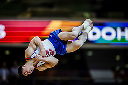 November 2, 2018 - Doha, Qatar - Nikita Nagornyy of  Russia   during  Floor for Men at the Aspire Dome in Doha, Qatar, Artistic FIG Gymnastics World Championships on 2 of November 2018. (Credit Image: © Ulrik Pedersen/NurPhoto via ZUMA Press)
