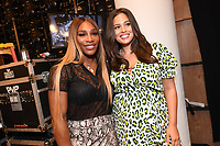 Serena Williams and Ashley Graham backstage at the Klarna STYLE360 NYFW Hosts S by Serena Fashion Show