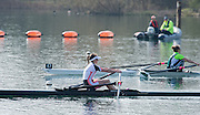 Caversham. Berkshire. UK<br /> Fran RAWLINS, Women's Lightweight single sculls, semi final A/B1. 2016 GBRowing U23 Trials at the GBRowing Training base near Reading, Berkshire.<br /> <br /> Tuesday  12/04/2016<br /> <br /> [Mandatory Credit; Peter SPURRIER/Intersport-images]