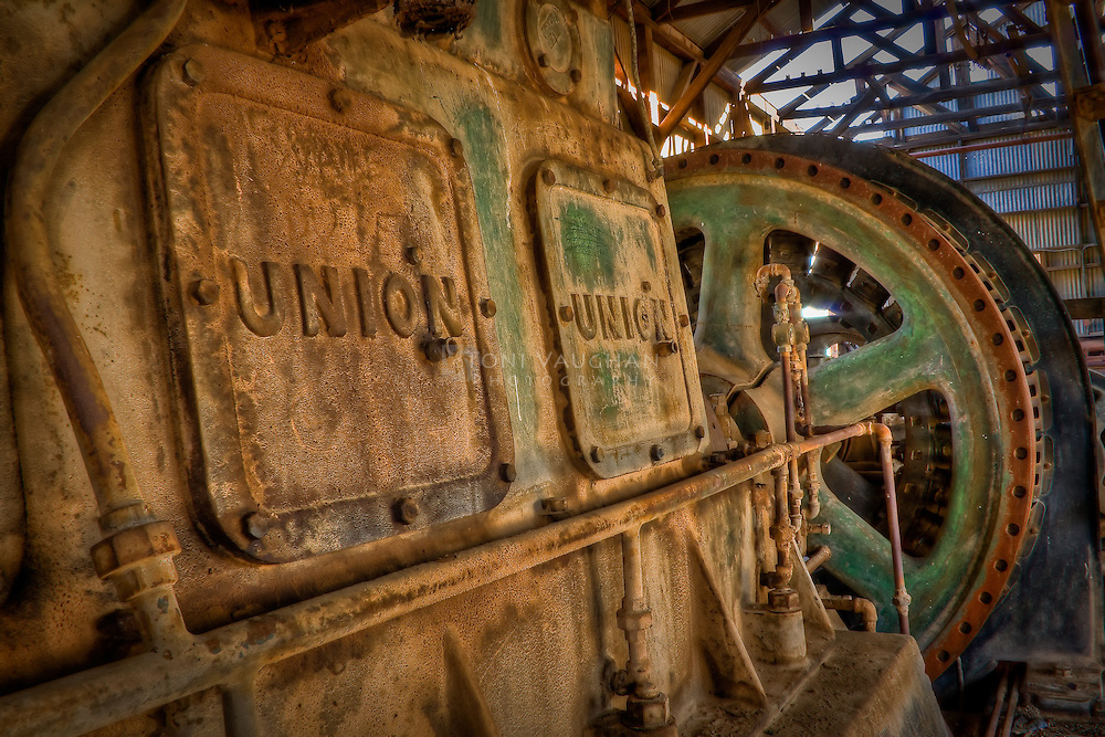 Power plant for the olf Vulture Mine in Wickenburg, Arizona