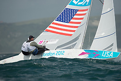 2012 Olympic Games London / Weymouth<br /> <br /> MENDELBLATT Mark, Fatih Brian, (USA, Star)