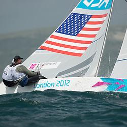 2012 Olympic Games London / Weymouth<br /> <br /> MENDELBLATT Mark, Fatih Brian, (USA, Star)