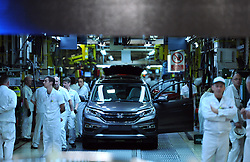File photo dated 02/07/15 of the Swindon Honda factory, as unconfirmed reports say the company is planning to close its plant in the town in three years time.
