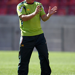 PORT ELIZABETH, SOUTH AFRICA - AUGUST 15, Dick Muir assistant coach during the South Africa national rugby team training session and press conference at Nelson Mandela Bay Stadium on August 15, 2011 in Port Elizabeth, South Africa<br /> Photo by Steve Haag / Gallo Images