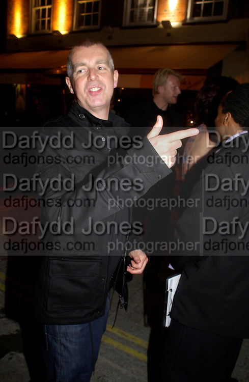 Neil Tennant. Tracey Emin's ' When I Think about Sex' exhibition after-party. Momo. Heddon St. London. 26 May 2005. ONE TIME USE ONLY - DO NOT ARCHIVE  © Copyright Photograph by Dafydd Jones 66 Stockwell Park Rd. London SW9 0DA Tel 020 7733 0108 www.dafjones.com