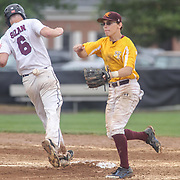 Caravel Academy Pitcher Joseph Silan (6) throws a strike in the third inning in the mist of the second round of the DIAA baseball state tournament between#4 Caravel Academy and #15 St. Elizabeth Saturday May 27, 2017, at Caravel Academy in Bear Delaware.