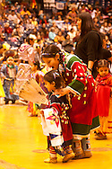 Kids, American Indian Council Powwow, Montana State University, Bozeman, Montana
