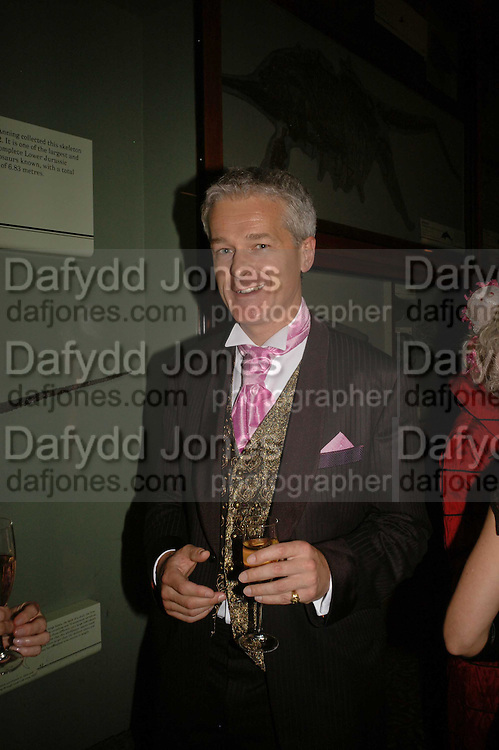Clive Hall, The Blush Ball, Natural History Museum, London<br />Breast Cancer Haven trust charity evening for the construction of a third Haven in North England. ONE TIME USE ONLY - DO NOT ARCHIVE  &copy; Copyright Photograph by Dafydd Jones 66 Stockwell Park Rd. London SW9 0DA Tel 020 7733 0108 www.dafjones.com