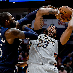 11-01-2017 Minnesota Timberwolves at New Orleans Pelicans