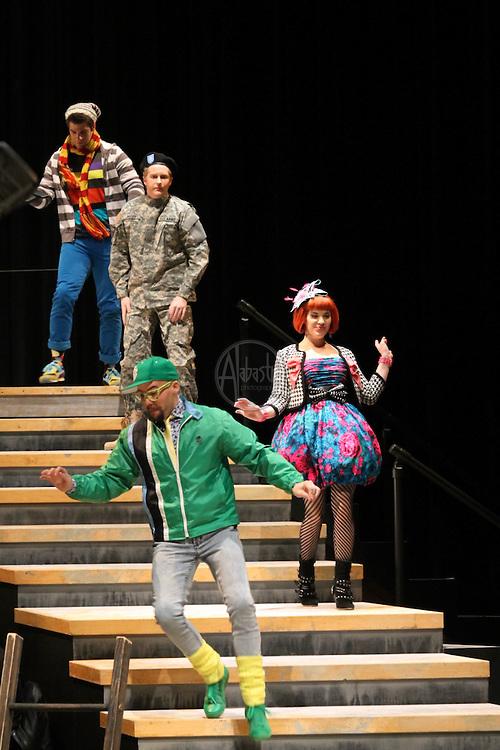 Seattle Opera's Young Artists Program presentation of Ariadne auf Naxos at Meydenbauer Center in Bellevue WA, April 2010.
