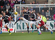 Dundee&rsquo;s Craig Wighton clears - Dundee v Rangers in the Ladbrokes Scottish Premiership at Dens Park, Dundee.Photo: David Young<br /> <br />  - &copy; David Young - www.davidyoungphoto.co.uk - email: davidyoungphoto@gmail.com