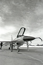 Military Planes Maintenance, B/W Images