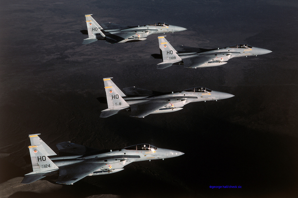 F-15 Eagles, Holloman AFB NM