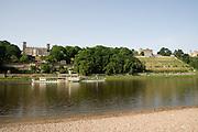 Elbeufer, Elbschloesser, Dresden, Sachsen, Deutschland.|.Dresden, Germany, river Elbe, Elbe Castles
