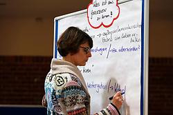 Am 23. Januar 2016 lud die Bürgerinitiative Lüchow-Dannenberg zu einem Seminartag über die Fehler im Verfahren um das geplante Atommüll-Endlager in Gorleben ein.<br /> <br /> Ort: Lüchow<br /> Copyright: Andreas Conradt<br /> Quelle: PubliXviewinG Im Bild: Lia Jahrens