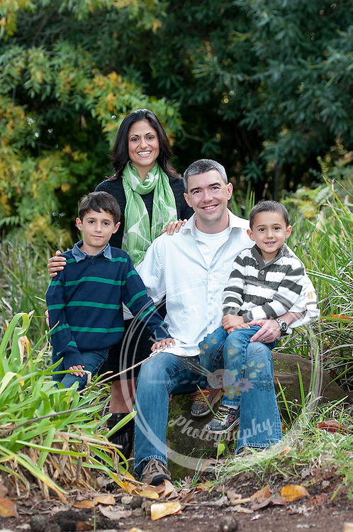 Family portrait photographer Kristina Cilia Photography in Vacaville, CA. Solano County Photographer