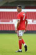 Nottingham Forest U23's Yassine El-Neyah during the U23 Professional Development League Play-Off Final match between Nottingham Forest and Bolton Wanderers at the City Ground, Nottingham, England on 4 May 2018. Picture by Jon Hobley.