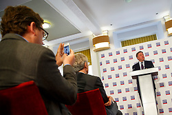 © Licensed to London News Pictures. 30/06/2014. LONDON, UK. Labour's Shadow Chancellor Ed Balls MP gives a speech on the UK economy at the London Business School on Monday, 30 June 2014. Photo credit : Tolga Akmen/LNP