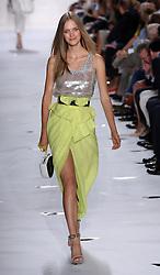 Diane Von Furstenberg show  at  New York Fashion Week  Sunday, 9th September 2012. Photo by: Stephen Lock / i-Images