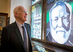 Sir Ian Wood receives Carnegie Medal, Dunfermline, 12 August 2019