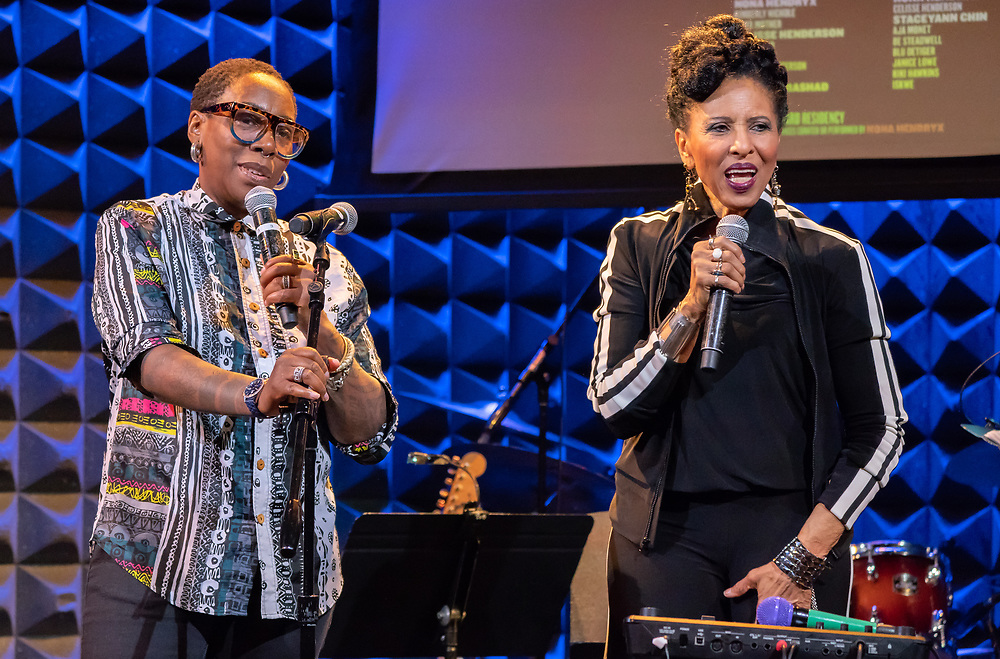 Nona Hendryx and Gina Yashere