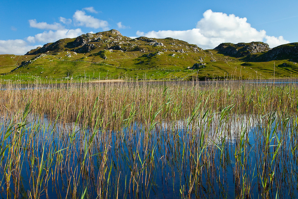 Lago Loch Dail Beag (Lake). Lewis Island. Outer Hebrides. Scotland, UK
