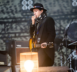 Carl Barât, The Libertines on the main stage. Saturday, 11th July 2015, day two at T in the Park 2015, at its new home at Strathallan Castle.