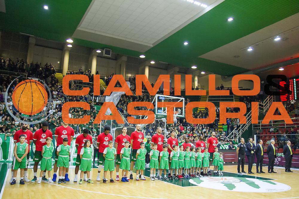 Squadra Avellino<br /> Sidigas Avellino - Enel Brindisi<br /> Lega Basket Serie A 2016/2017<br /> Avellino 27/11/2016<br /> Foto Ciamillo-Castoria