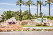 Indian Wells Golf Resort Entrance