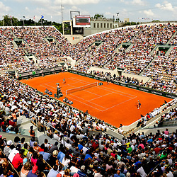 General view of Court Suzanne Lenglen during Day 9 of the French Open 2018 on June 3, 2018 in Paris, France. (Photo by Dave Winter/Icon Sport)