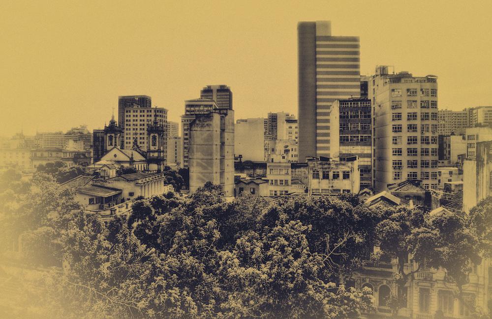 Downtown Rio. Carioca view.