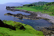 SEA KAYAKING, SCOTLAND, W. coast south of Oban Kerrera Island