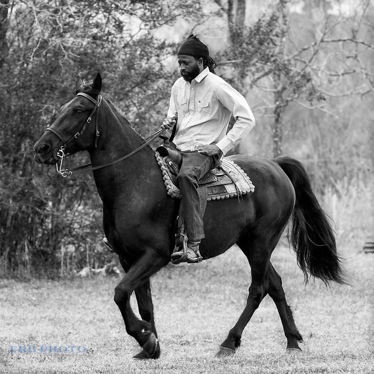 At a Horseshow