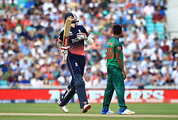 England's Alex Hales during the ICC Champions Trophy, Group A match at The Oval, London.