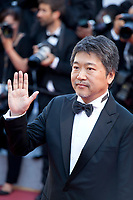 Hirokazu Kore-eda at the Award Ceremony and The Man Who Killed Don Quixote at the The Man Who Killed Don Quixote gala screening at the 71st Cannes Film Festival, Saturday 19th May 2018, Cannes, France. Photo credit: Doreen Kennedy