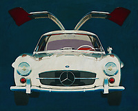 Mercedes 300SL Gullwings 1964<br />