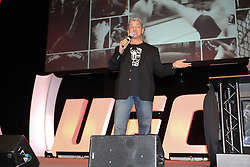 October 7, 2011; Houston, TX.; USA;  Bruce Buffer at the UFC 136 Fan Expo at the George R. Brown Convention Center in Houston, TX.