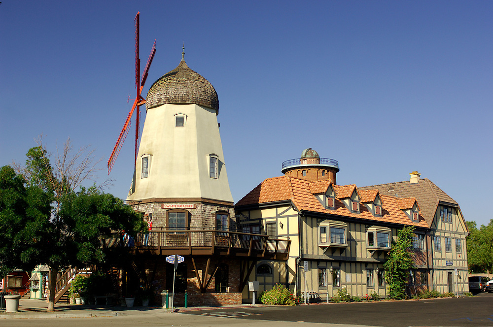 Windmill, Solvang, California, United States of America