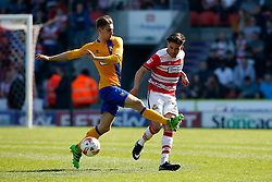 Craig Alcock of Doncaster Rovers clears the ball  - Mandatory by-line: Matt McNulty/JMP - 08/04/2017 - FOOTBALL - The Keepmoat Stadium - Doncaster, England - Doncaster Rovers v Mansfield Town - Sky Bet League Two