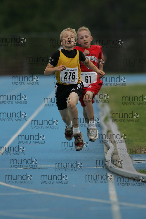 """Ottawa, Ontario ---14/06/08--- """"Morris, Rowan"""" competes in the 1500m at  the 2008 All Schools Elementary Meet of Champions in Ottawa, Ontario..Copyright Sean W. Burges, 2008. .This photograph is licensed for personal use  only."""