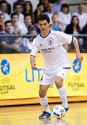 Milivoje Simeunovic of Litija during futsal match between FC Litija and Athina '90 in Main Round of Group I of UEFA Futsal Cup, on September 29, 2011, in Sports hall, Litija, Slovenia.  (Photo by Vid Ponikvar / Sportida)